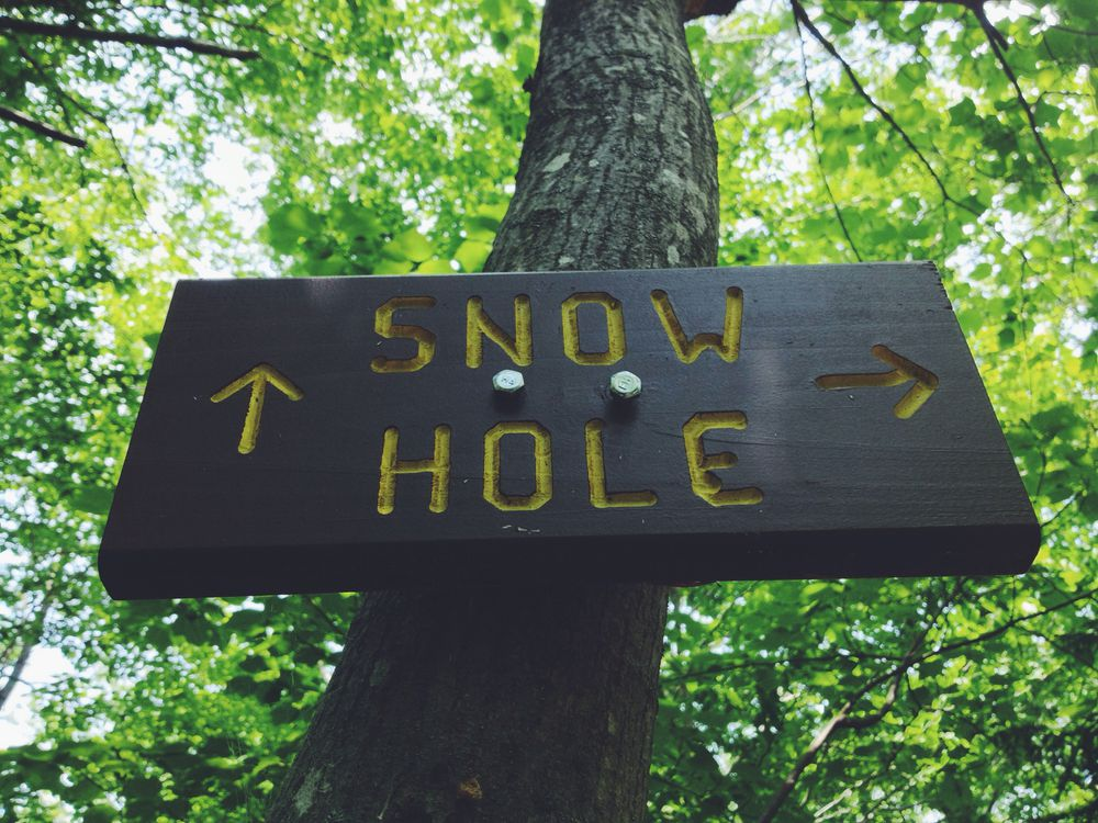 The Snow Hole, Taconic Mountains