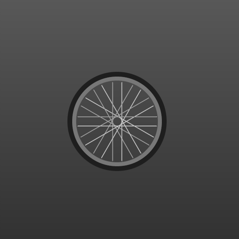 CSS bicycle wheel